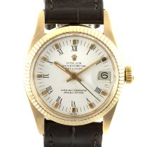 Rolex Lady-Datejust Or jaune 31mm Blanc