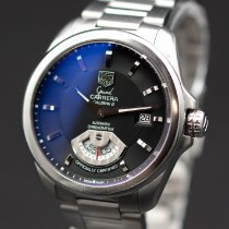 TAG Heuer Grand Carrera Steel 40mm Black No numerals United States of America, New Jersey, Long Branch