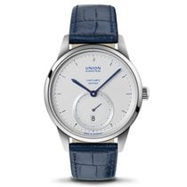 Union Glashütte 1893 Small Second Steel 41mm Silver No numerals