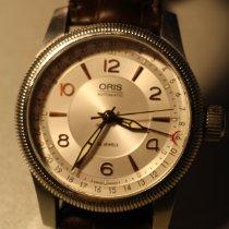 Oris Big Crown Pointer Date Acier 40mm Argent