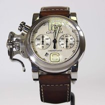 Graham Chronofighter R.A.C. 2CRBS Very good Steel 43mm Automatic United Kingdom, Aberdeenshire