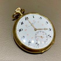 IWC Uhr gebraucht Gelbgold 51mm Arabisch Handaufzug Nur Uhr