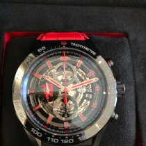 TAG Heuer Carrera Calibre HEUER 01 Steel 45mm Black