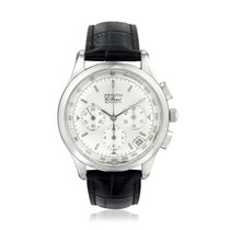 Zenith El Primero Chronograph pre-owned Silver Chronograph Date Leather