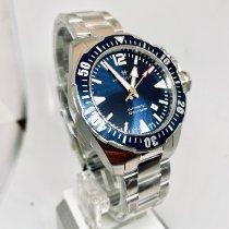 Hamilton Khaki Navy Frogman Steel 42mm Blue Arabic numerals United States of America, New York, NY