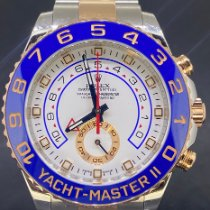 Rolex Yacht-Master II occasion 44mm Blanc Chronographe Or/Acier