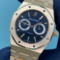 Audemars Piguet Royal Oak Day-Date Oro rosa 39mm Negro Sin cifras