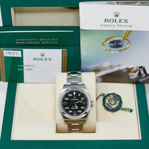 Rolex Air King Steel 40mm Black Arabic numerals United States of America, California, Los Angeles