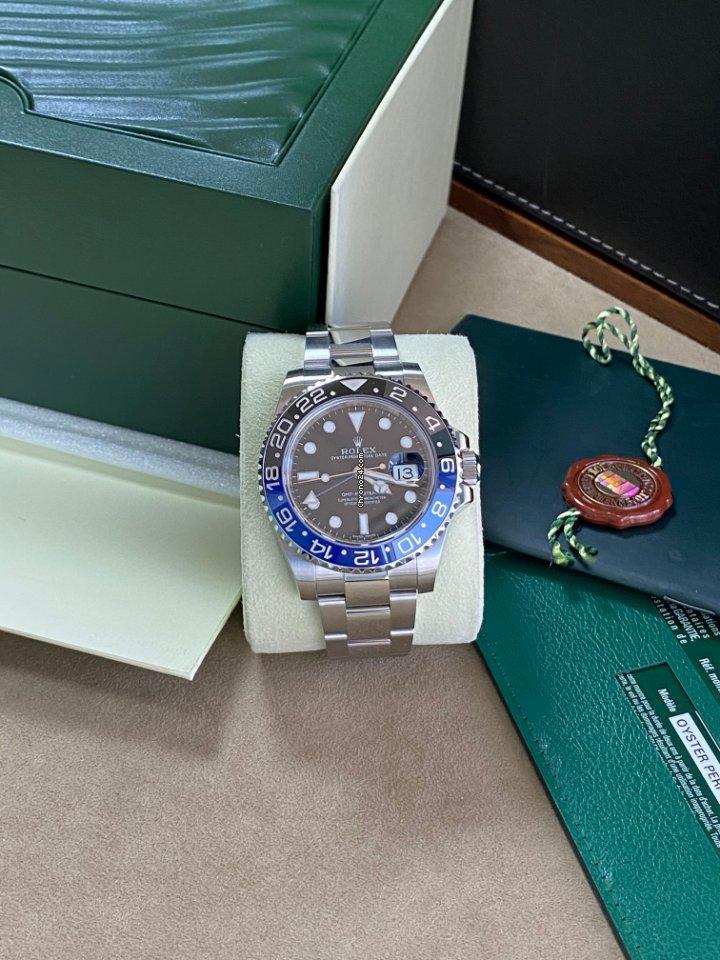 Rolex GMT-Master II 116710BLNR folosit