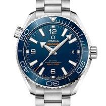 Omega Seamaster Planet Ocean Acero 39.5mm Azul Arábigos