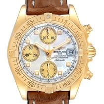 Breitling Chrono Cockpit Yellow gold 39mm Mother of pearl United States of America, Georgia, Atlanta