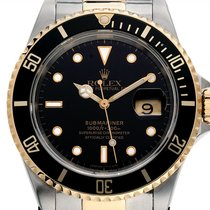 Rolex 16613 Stahl 1988 Submariner Date 40mm gebraucht Deutschland, Stuttgart