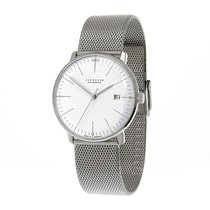 Junghans 027_4002.46 Steel max bill Automatic 38mm new