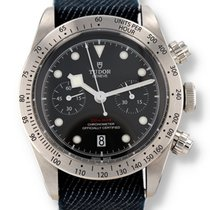 Tudor Black Bay Chrono Steel 41mm Black United States of America, New Hampshire, Nashua