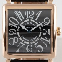 Franck Muller Master Square Red gold 29.5mm Black