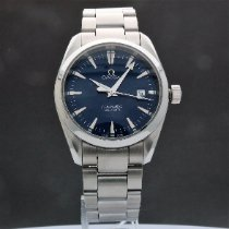 Omega Seamaster Aqua Terra Steel 36mm Blue United States of America, New York, White Plains