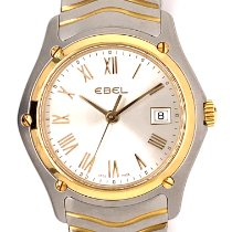 Ebel Classic Gold/Steel 28mm Champagne Roman numerals