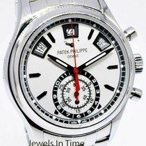 Patek Philippe Annual Calendar Chronograph Acero 40mm Plata