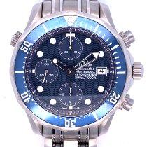 Omega Seamaster Diver 300 M Titanio 41.5mm Azul