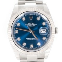 Rolex Datejust Сталь 41mm Синий