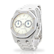 Audemars Piguet Royal Oak Day-Date Acero 37mm Blanco