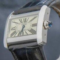 Cartier Tank Divan 25.5mm Blanco Romanos