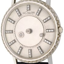 Jaeger-LeCoultre White gold Manual winding Silver No numerals 33mm pre-owned