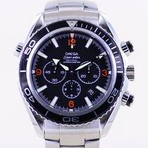 Omega Seamaster Planet Ocean Chronograph Сталь 45mm Черный Aрабские
