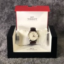 Tissot pre-owned Automatic 40mm Silver Sapphire crystal 3 ATM