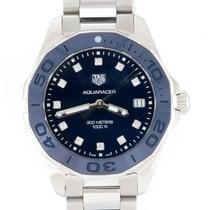 TAG Heuer Damenuhr Aquaracer Lady 35mm Quarz gebraucht Uhr mit Original-Box und Original-Papieren 2019