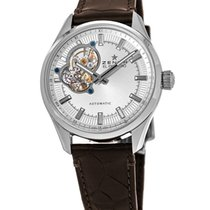 Zenith El Primero Synopsis Steel 40mm Silver No numerals United States of America, New York, Brooklyn