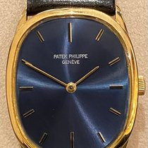 Patek Philippe Golden Ellipse Or jaune 27mm Bleu