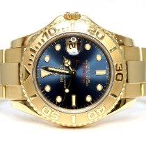 Rolex Yacht-Master 168628 Очень хорошее Желтое золото 35mm Автоподзавод