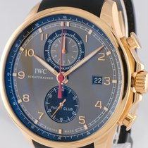 IWC Portuguese Yacht Club Chronograph Or rose 45mm Gris Arabes