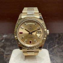 Rolex Day-Date II Κίτρινο χρυσό 41mm Χρυσό Ρωμαϊκοί
