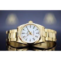 Rolex Automatik Weiß 31mm gebraucht Oyster Perpetual