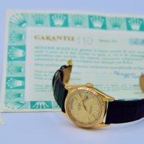 Rolex Day-Date 36 occasion 36mm Or Date Affichage des jours Cuir de crocodile