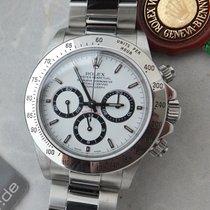 Rolex Daytona nieuw 2000 Automatisch Chronograaf Horloge met originele doos en originele papieren 16520 Daytona A-Serie LC 100 MK 8  Neuer Service Rolex