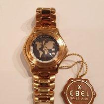 Ebel Voyager Желтое золото 40mm Черный