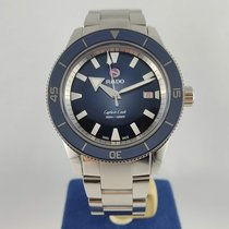 Rado HyperChrome Captain Cook pre-owned 42mm Blue Steel