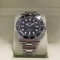 Rolex Submariner (No Date) Steel 40mm Black No numerals United Kingdom, London