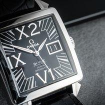 Omega De Ville X2 Steel 35mm Black Roman numerals