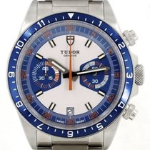 Tudor Heritage Chrono Blue new 2013 Automatic Chronograph Watch with original box and original papers 70330B
