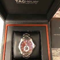 TAG Heuer Link Calibre 6 Steel 39mm Brown No numerals United States of America, North Carolina, Cary