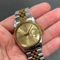 Rolex Золото/Cталь 36mm Автоподзавод 16013 подержанные