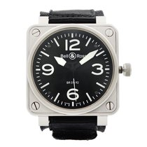 Bell & Ross BR 01-92 Steel 46mm Black Arabic numerals United States of America, New York, NYC