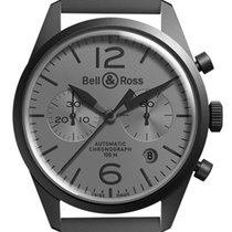Bell & Ross BR V1 Acero 41,2mm Gris