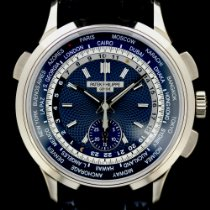 Patek Philippe World Time Chronograph White gold 39.5mm