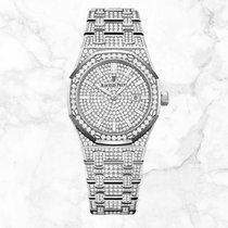 Audemars Piguet Royal Oak Lady neu 2020 Quarz Uhr mit Original-Box und Original-Papieren 67652BC.ZZ.1265BC.01