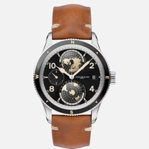 Montblanc 1858 Steel 42mm Black Arabic numerals United States of America, New Jersey, River Edge